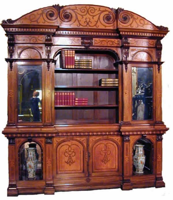 victorian bookcase plans