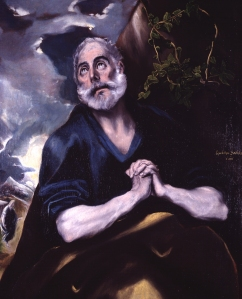 El Greco's The Tear's of St Peter