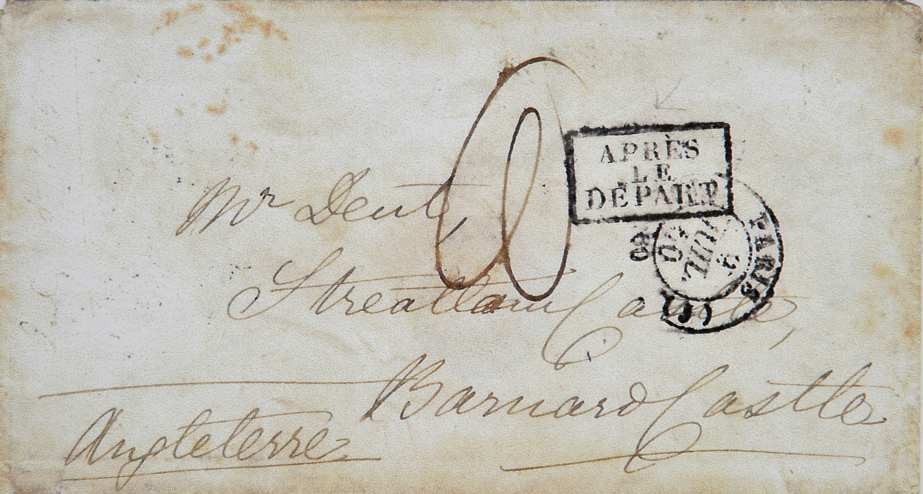 Envelope Finds Lost Letter After  Years  The Bowes MuseumS Blog