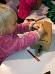 Making Fleabag and his house