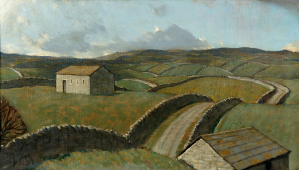 'A Moorland Road' by Sir Charles Holmes