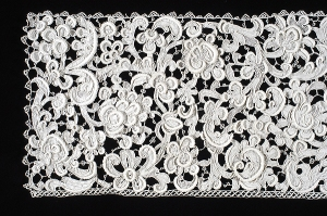 Detail of lace panel