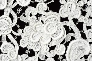 Detail of floral sprig