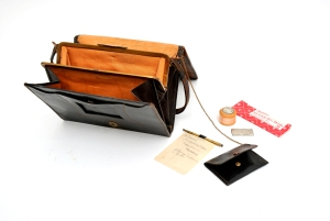 Handbag with contents