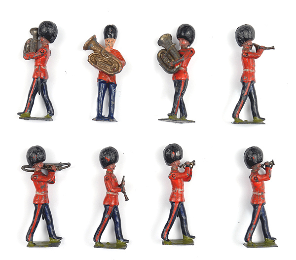 Some of the bandsmen soldiers [Toy.353]