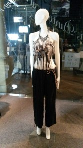 Ann Demeulemeester - top made from pigeon feathers