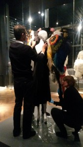 Dressing the mannequin
