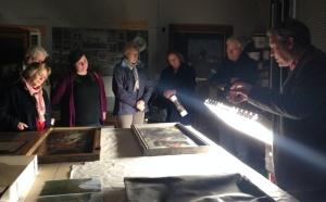 Art Happens 'behind the scenes' conservation reward