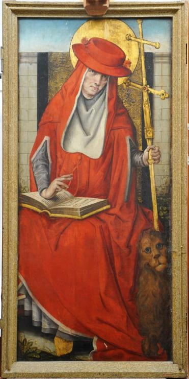 Image of Saint Jerome taken in 'Normal Light'