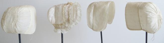 Conserved lace bonnets