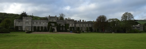 The main house at West Dean College