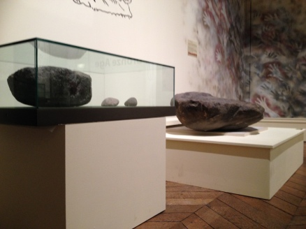 Objects on plinths