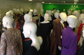 Mannequins de-installed from gallery, and awaiting undressing