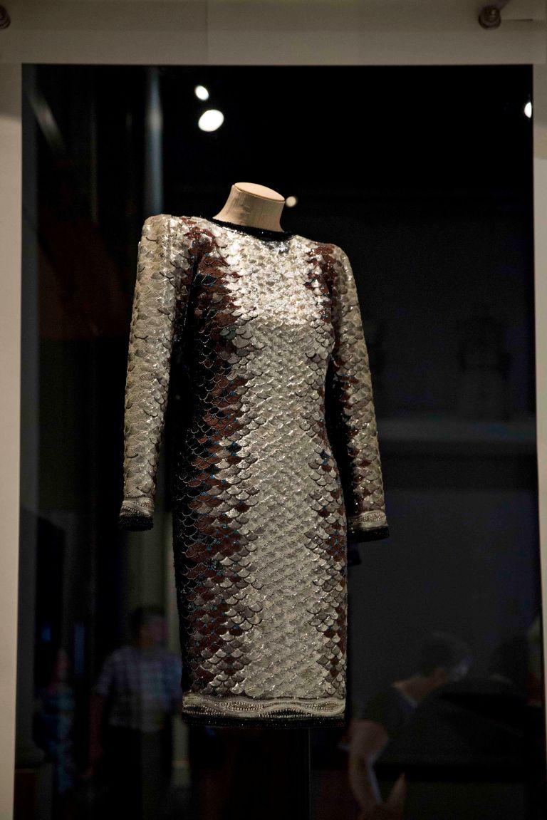 Short evening dress known as 'La Sardine'