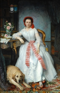 BM.297, Josephine Bowes, Countess of Montalbo (1825-1874), 1850