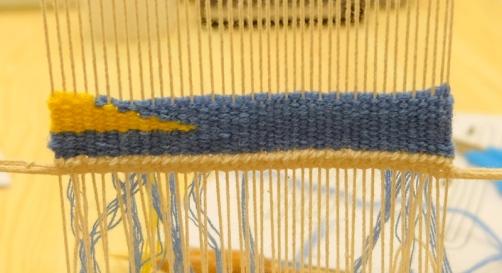 Weaving a diagonal