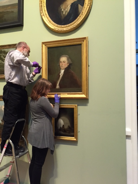Re-hanging the Goya