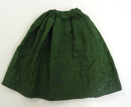 Quilted patticoat front