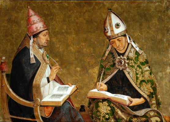 Saint Augustine and Saint Gregory
