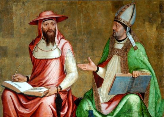 Saint Jerome and Saint Ambrose