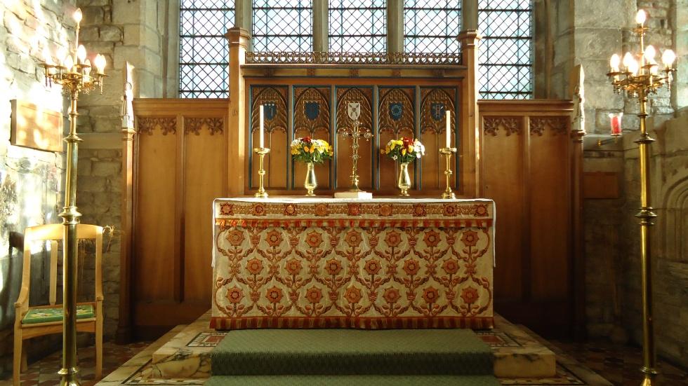 Altarcloth Set in Situ