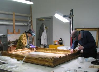 10 Working on Turner frame