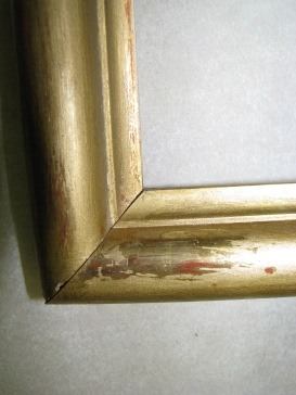 8 Detail of 1068 frame during treatment