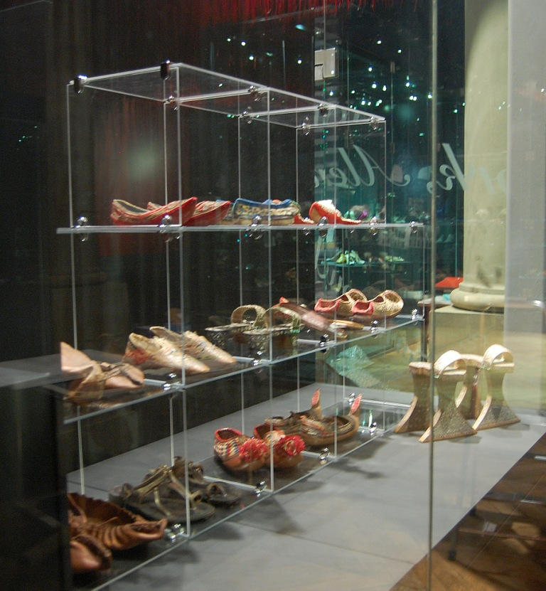 The Bowes Museum Founders' Collection on Display in Shoes: Pleasure and Pain
