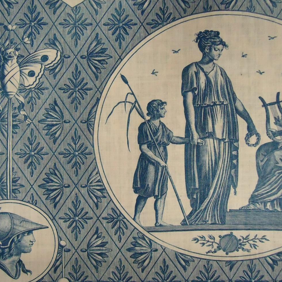 Toile de jouy the bowes museum 39 s blog - Papel pintado toile de jouy ...