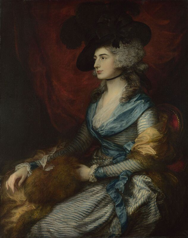Mrs Siddons, Thomas Gainsborough, 1785