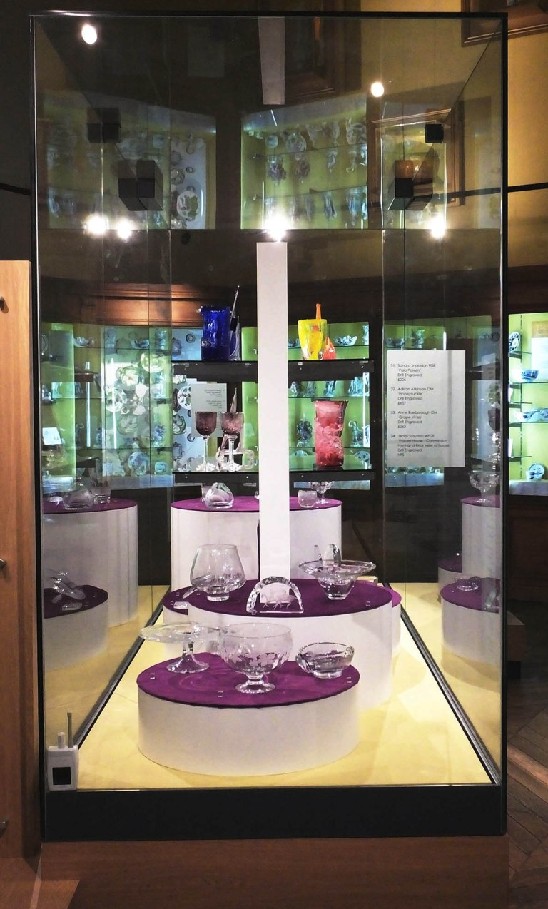 Northern Glass Engravers exhibition 2016