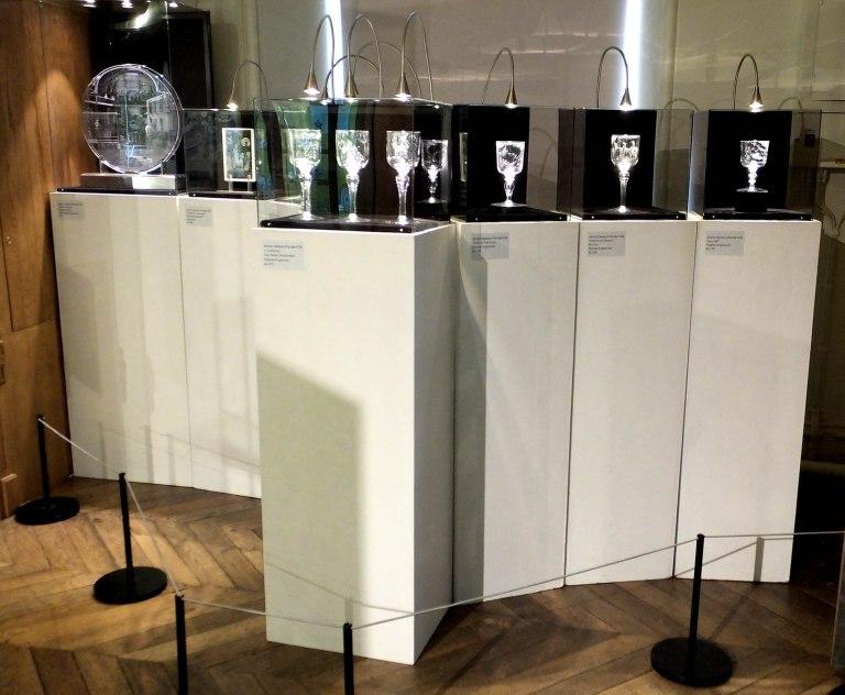 Engraved Glass Stipple Display 2016