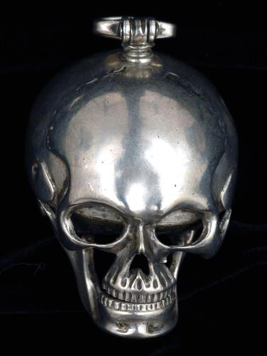 Watch in the form of a skull, Le Roy et Fil, c.1755-1765, CW.52.