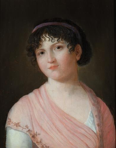 Portrait of Marie-Anne Lenormand by Jeanne-Philiberte Ledoux