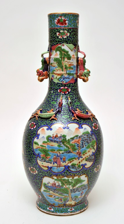 Pair of Chinese Vases from the Lady Ludlow Collection, The Bowes Museum, X.6169/1-2