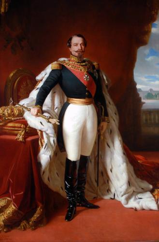 Emperor Napoleon III, 1867, Jules de Vignon, B.M.1052