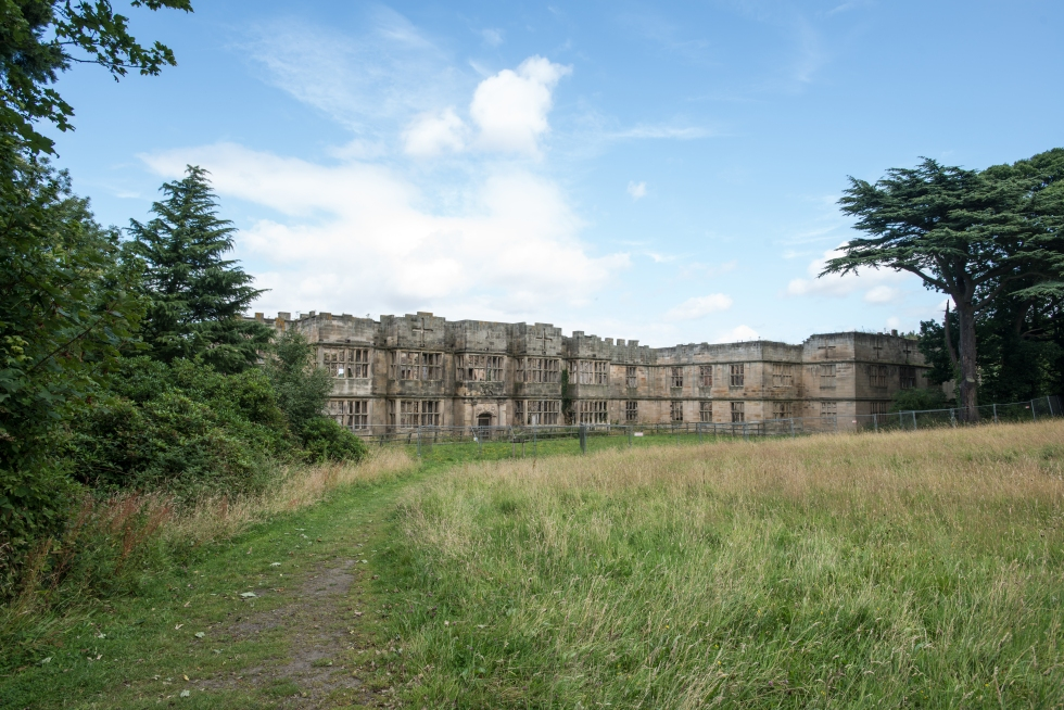 The house at Gibside today