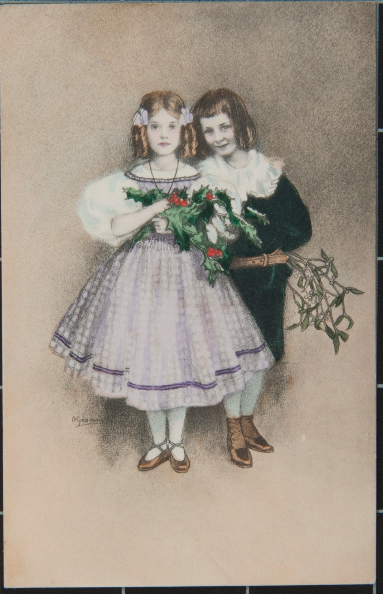 Postcard sent to Catherine Pattison by Herbert on March 20th 1906, ANT/FL/604.15.