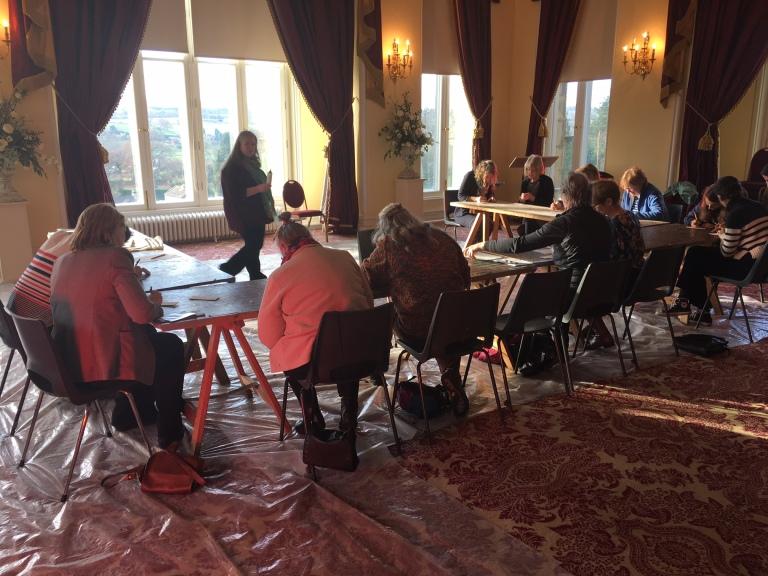Silverpoint workshop