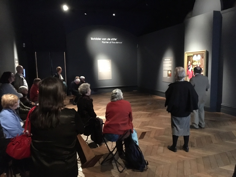 Second gallery talk by Dr Howard Coutts