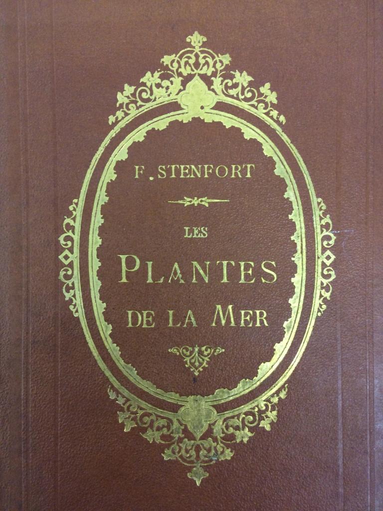 Cover of Stenfort's Les Plantes de la Mer.