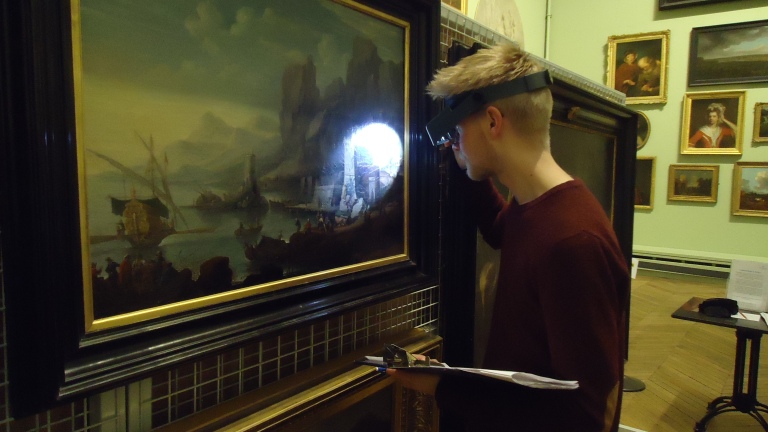 Tor condition checking a painting
