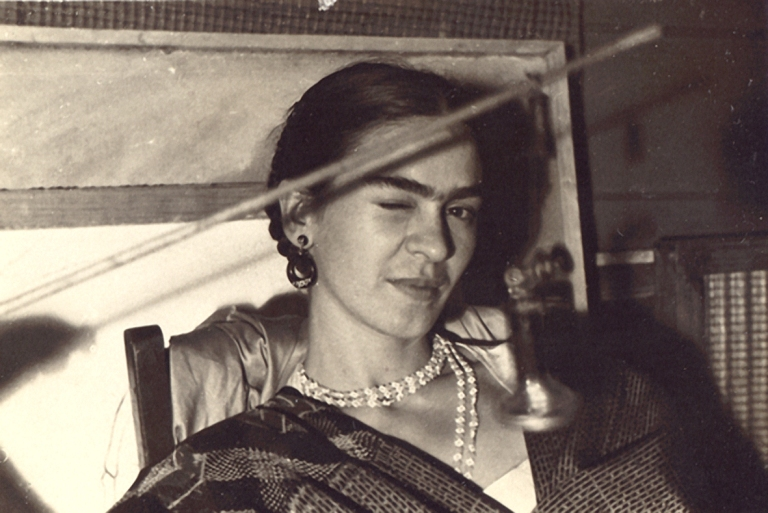 18_LucienneBloch_Frida Kahlo